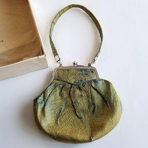Antique silk mini bag Samstag's New York colonial